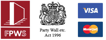 Faculty of party wall surveyors and party wall act logos